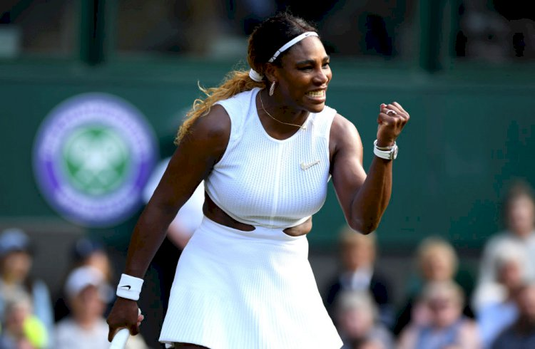 AEC fines Serena Williams $10000 for damaging Wimbledon court