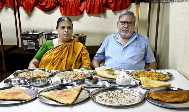 This young couple never stopped serving homemade food even at their 70's