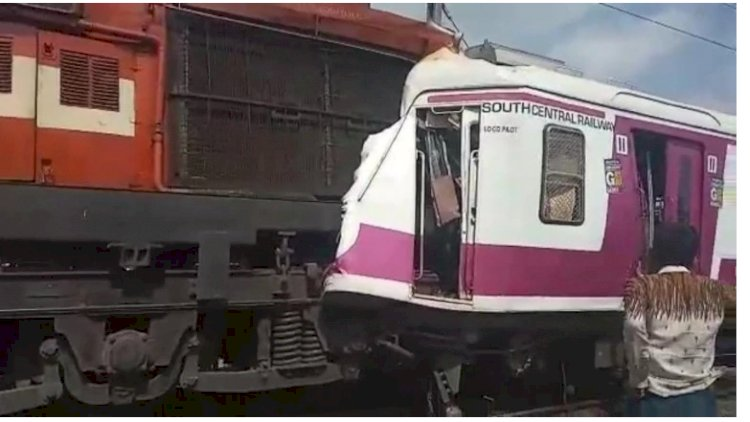 Hyderabad: Express, local train collide at Kacheguda station, 10 injured