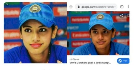 Twitter Burst out over Photoshopped Image of Cricketer