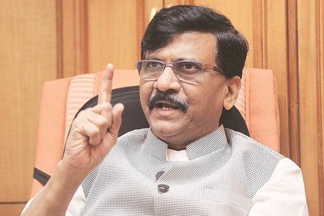 BJP acted like dacoits of Chambal to form government in the state : Sanjay Raut