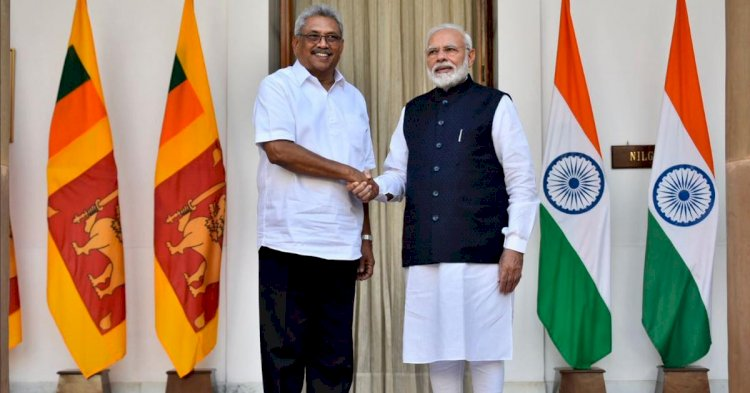 PM Modi extends  financial assistance of USD 450 million to Sri Lanka after meeting Gotabaya  Rajapaksa
