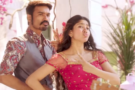 Dhanush's Rowdy baby song tops the list of  2019's most watched video on YouTube India