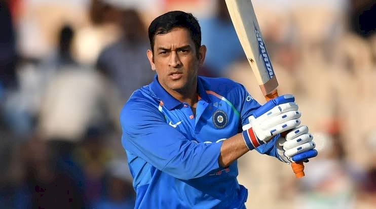 M.S.Dhoni completes 15 years in International Cricket