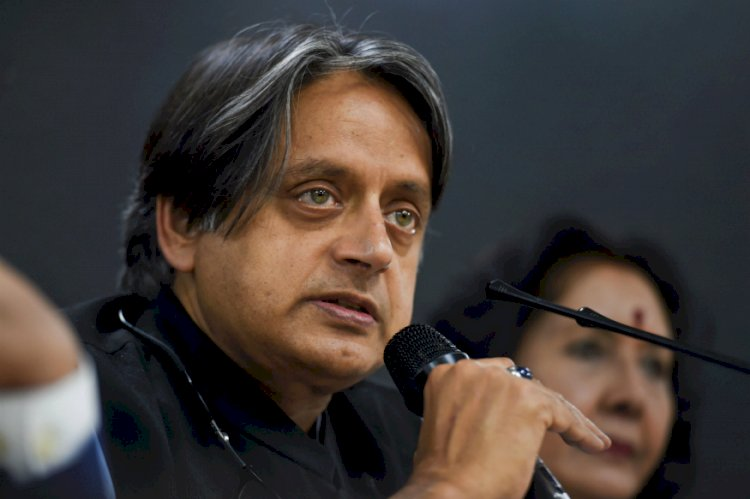Shashi Tharoor backs German IIT-M student asked to leave India for Protesting against CAA