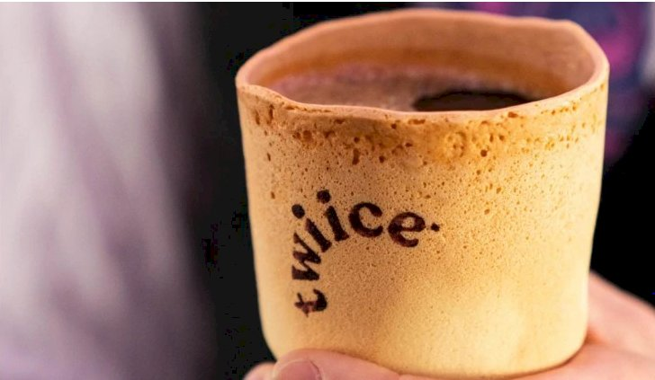 Eat the cup after drinking coffee? Air New Zealand to serve beverages in edible vanilla cups