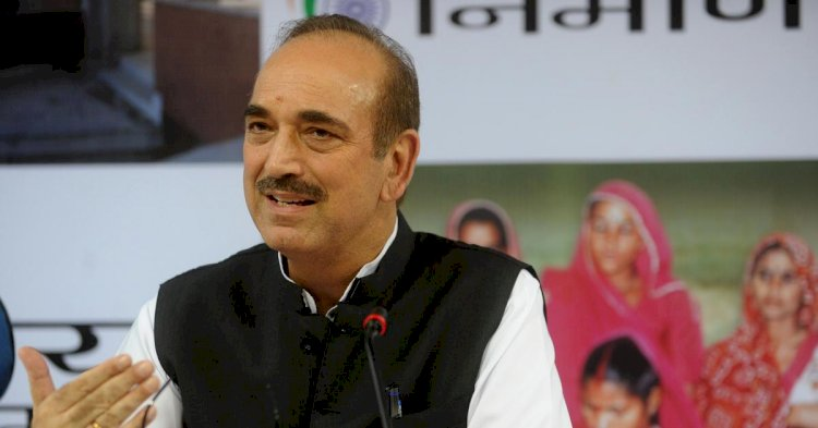 Narendra Modi insulting country by comparing it with Pakistan: Ghulam Nabi Azad