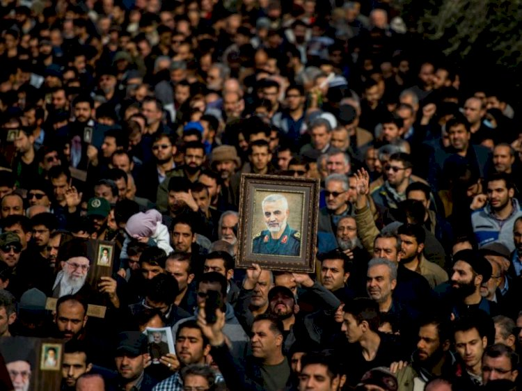 After killing of Soliemani Death Iran declares all US forces terrorists
