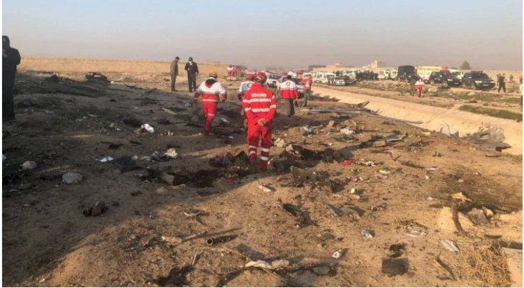 Ukraine plane crashes after take-off from Iran, all 176 on board killed