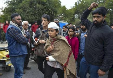 Delhi Police claims JNUSU president Aishe Ghosh mainly involved in JNU campus violence