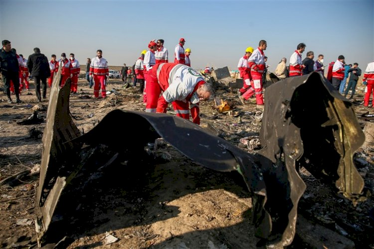 Iran says some people arrested for role in Ukrainian plane crash that killed 176