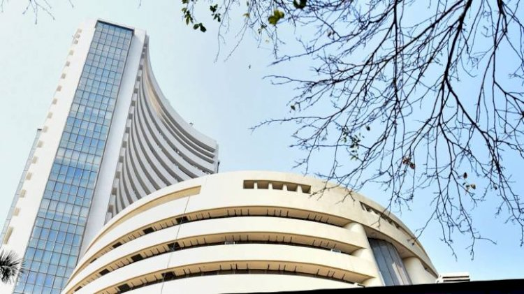 Sensex ended down 205.10 points