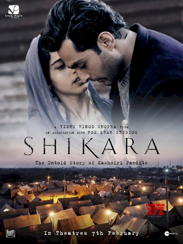 Shikara trailer 2 out : Aadil Khan and Sadia as Kashmiri Pandits