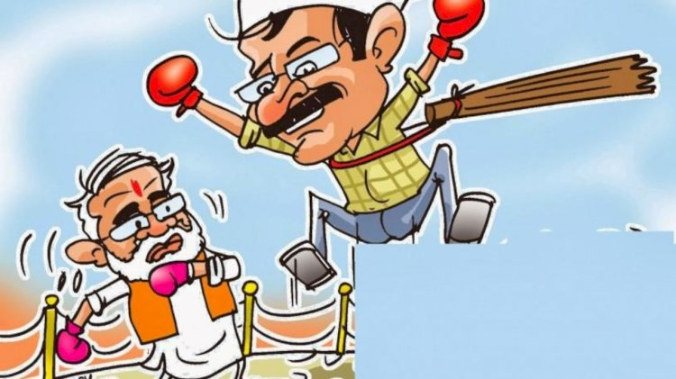 Times Now-IPSOS Opinion Poll suggests AAP expected to win 54-60 seats ,BJP 10-14 seats in National Capital
