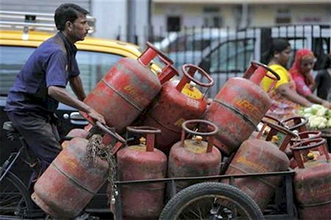 LPG cylinder prices hiked across metro cities from today
