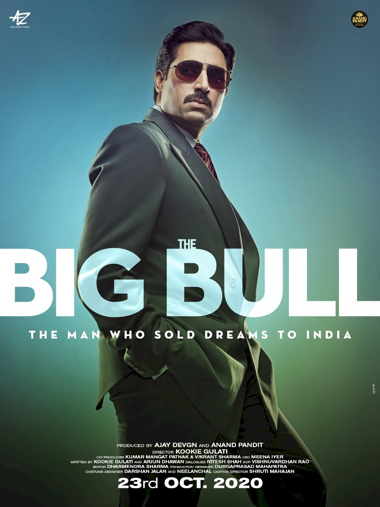 The Big Bull new poster out: Abhishek Bachchan film to release on October 23