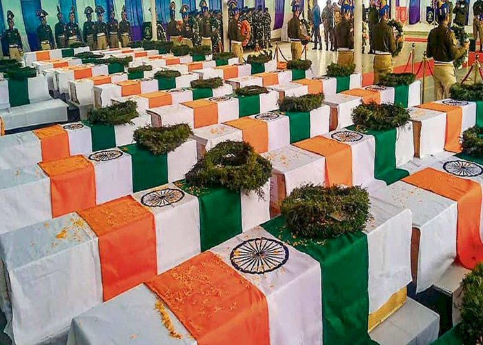 PM Modi pays tribute to martyred CRPF personnel