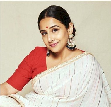 Vidya Balan's saree look..You Just say Wow!!!