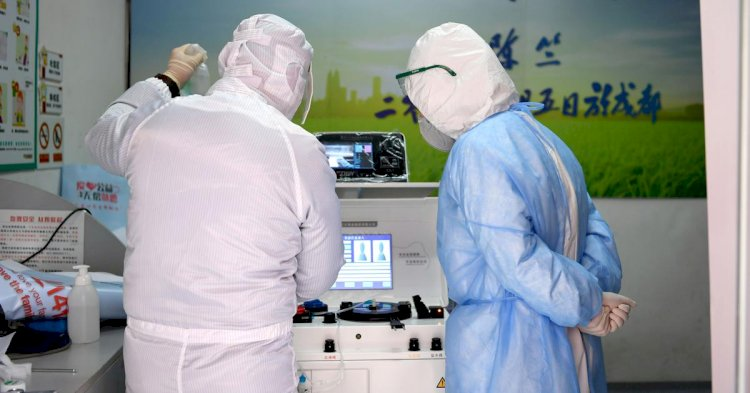 China reports drop in Covid19 virus, only 349 new coronavirus cases