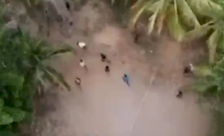 Kerala Police shares drone sightings video with 'tracer bullet' challenge commentaries